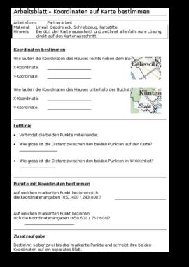 www.unterrichtsmaterial.ch - Geographie - Kartographie / Gradnetz ...