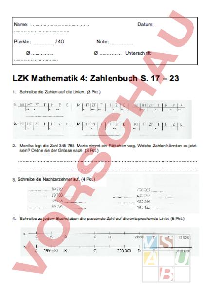 arbeitsblatt lzk mathematik zahlenbuch 4 s 17 23 mathematik zahlenbereiche. Black Bedroom Furniture Sets. Home Design Ideas