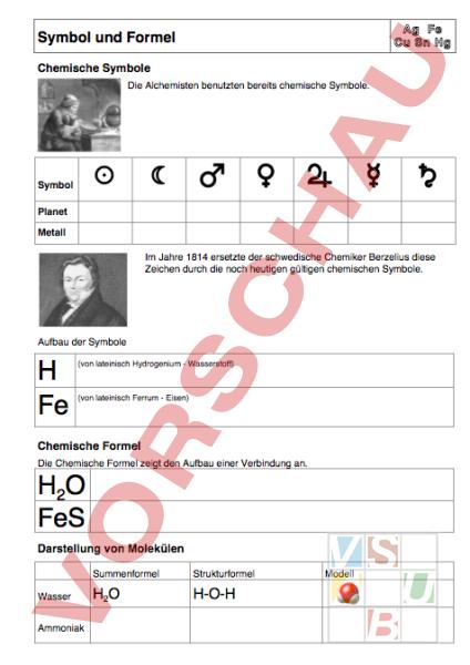 www.unterrichtsmaterial.ch - Chemie - Chem. Formeln / Stöchiometrie ...
