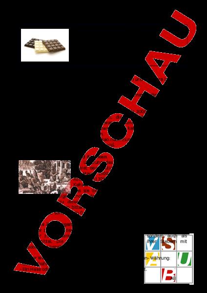 Arbeitsblatt: Vom Kakaogetränk zur Schokoladentafel - Lebenskunde ...