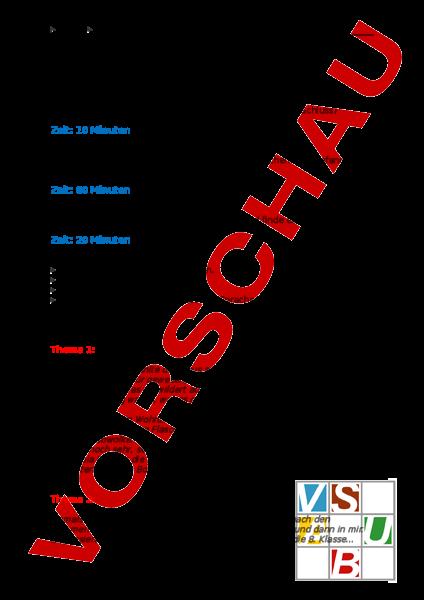 Arbeitsblatt Aufsatz Zu Ende Schreiben Inkl Auftrag