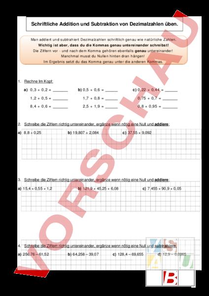 www.unterrichtsmaterial.ch - Mathematik - Brüche / Dezimalzahlen ...