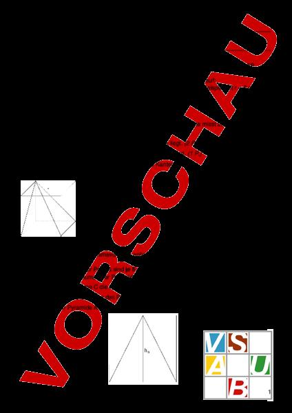 arbeitsblatt pyramiden und prisma geometrie k rper figuren. Black Bedroom Furniture Sets. Home Design Ideas