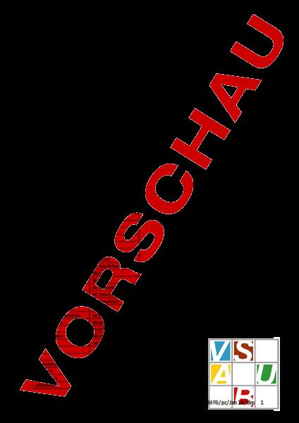 Arbeitsblatt: MF6 Verbenverzeichnis d - f - Französisch - Grammatik