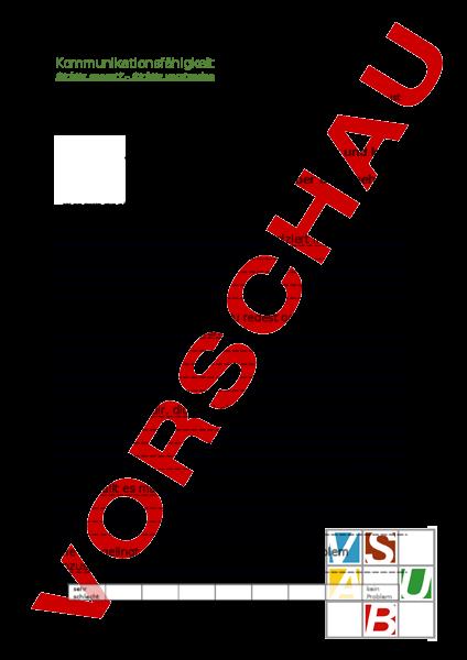 Arbeitsblatt: Lerncoaching - Lebenskunde - Persönlichkeitsentwicklung