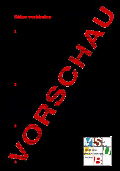 www.unterrichtsmaterial.ch - Deutsch - Grammatik - Satzverbindungen ...