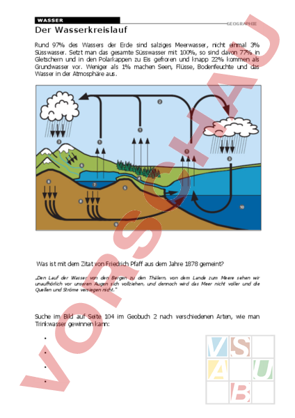 www.unterrichtsmaterial.ch - Geographie - Anderes Thema ...