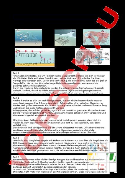 www.unterrichtsmaterial.ch - Biologie - Gemischte Themen - Ozean ...
