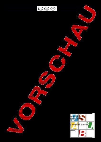 Arbeitsblatt: Test passé composé ou imparfait - Französisch - Grammatik