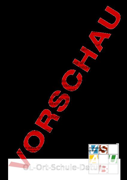 Arbeitsblatt: OL - Bewegung / Sport - Anderes Thema