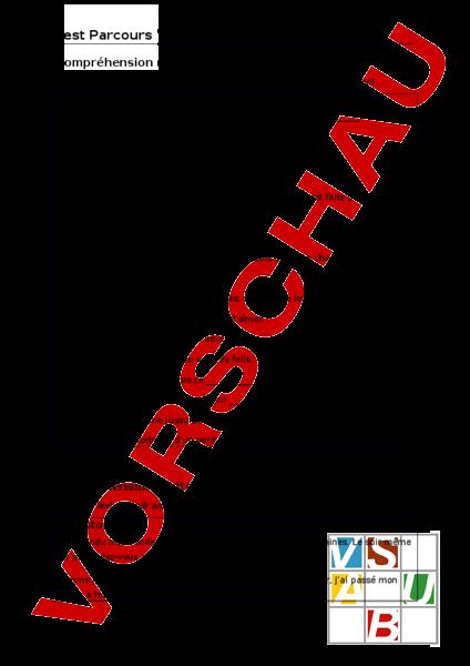 Arbeitsblatt: Clin d\'Oeil 7.4 Schlusstest - Französisch - Gemischte ...