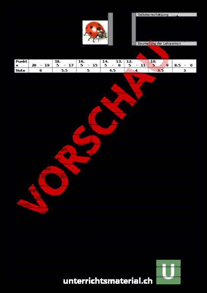 www.unterrichtsmaterial.ch - Englisch - Wortschatz - NEW WORLD 1 U3 ...
