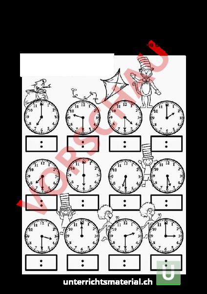 www.unterrichtsmaterial.ch - Mathematik - Anderes Thema - Analoge ...