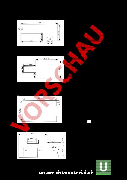 Arbeitsblatt: Rechteck, Quader - Geometrie - Flächen