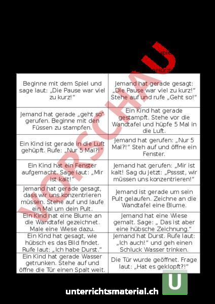 www.unterrichtsmaterial.ch - Deutsch - Hörverstehen - Lese- und ...