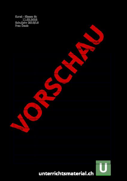 www.unterrichtsmaterial.ch - Bildnerisches Gestalten - Farbe - Des ...