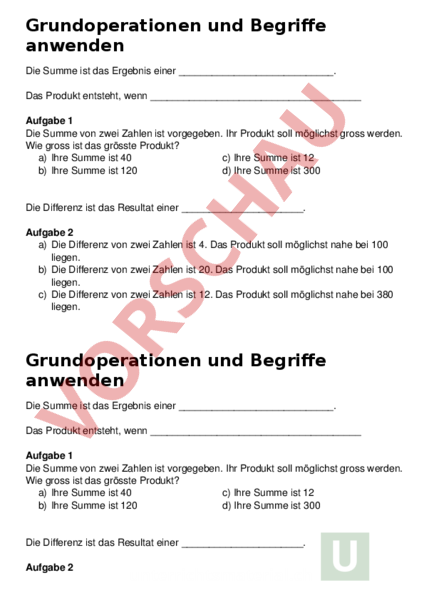 Atemberaubend Produkt Aus Der Summe Und Differenz Von Zwei Begriffen ...