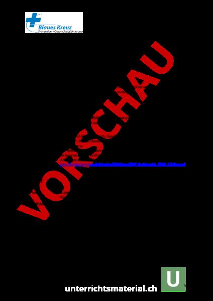 Arbeitsblatt: Alkoholquiz - Lebenskunde - Drogen / Prävention