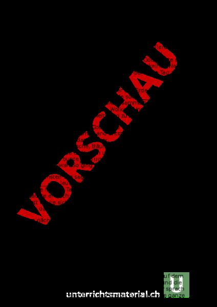 Arbeitsblatt: Schöpfungsgeschichte nach der Bibel - Lebenskunde ...