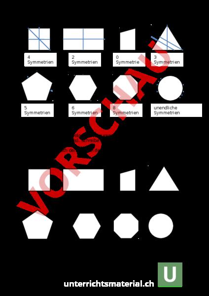 www.unterrichtsmaterial.ch - Geometrie - Symmetrien - Geometrie ...