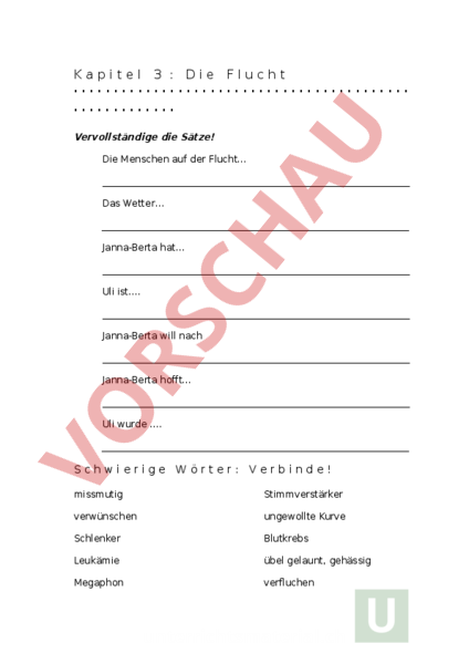 www.unterrichtsmaterial.ch - Deutsch - Textverständnis - Die Wolke ...
