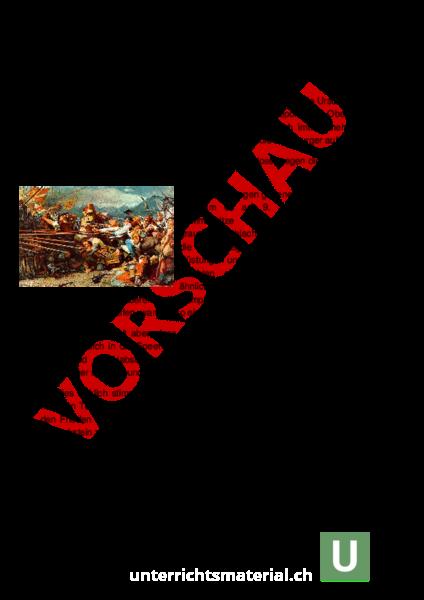 Arbeitsblatt: Schlacht bei Sempach - Geschichte - Schweizer Geschichte