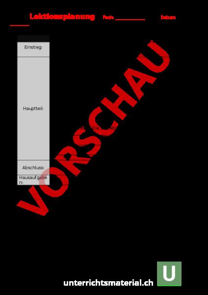 www.unterrichtsmaterial.ch - Administration / Methodik ...