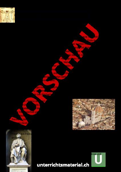 www.unterrichtsmaterial.ch - Geschichte - Neuzeit - Florenz ...