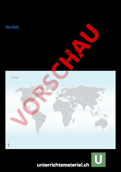 Arbeitsblatt: Migration - Geographie - Anderes Thema