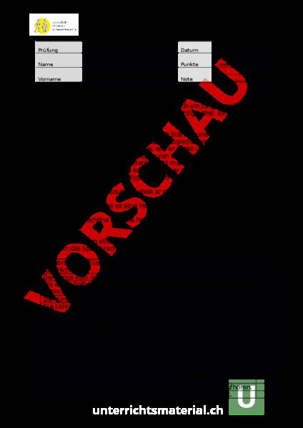 www.unterrichtsmaterial.ch - Deutsch - Hörverstehen - Hörverstehen ...
