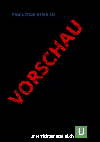 Arbeitsblatt: Production orale Envol 7 unité 2 - Französisch ...