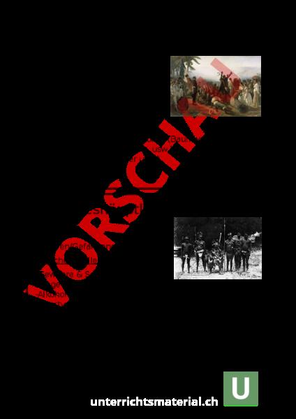 Arbeitsblatt: Spiel Dreieckshandel - Geschichte - Anderes Thema