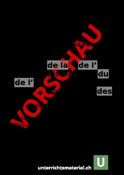 Französisch Artikel Regeln