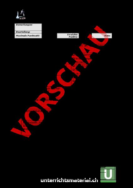 Arbeitsblatt: Test Atmung - Biologie - Anatomie / Physiologie