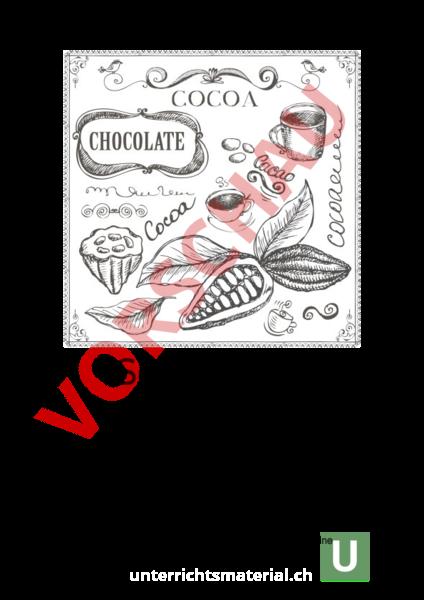 Arbeitsblatt: Themenheft 3.2 Schokolade - Deutsch - Gemischte Themen