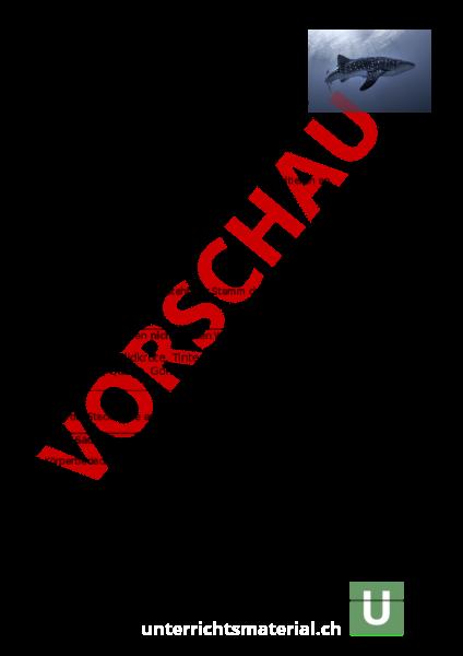 Arbeitsblatt: LZK Wirbeltiere - Biologie - Fortpflanzung / Entwicklung