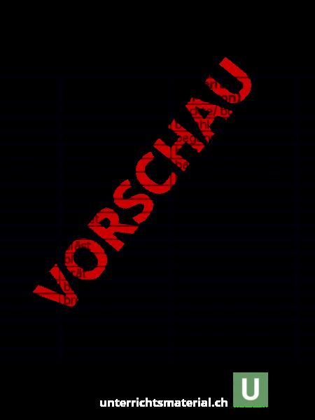 Arbeitsblatt: Liste unregelmässige Verben - Deutsch - Grammatik