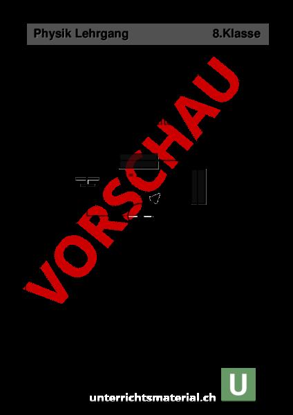 Arbeitsblatt: Elektrizität-Lehrgang - Physik - Elektrizität ...
