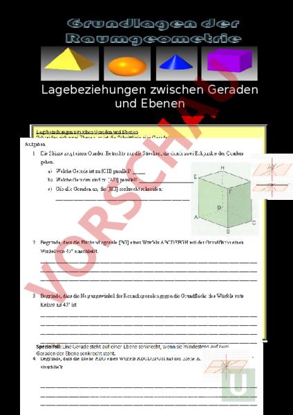 www.unterrichtsmaterial.ch - Geometrie - Raumverständnis ...