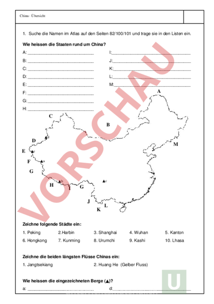 www.unterrichtsmaterial.ch - Geographie - Asien - China ...