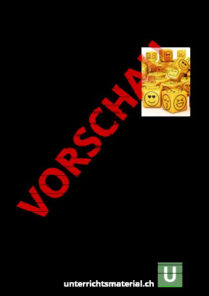 Arbeitsblatt: -ing form (gerund) - Englisch - Grammatik