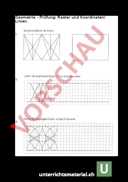 www.unterrichtsmaterial.ch - Geometrie - Geraden - LZK Geometrie ...