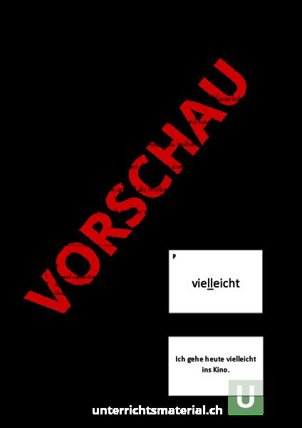 www.unterrichtsmaterial.ch - Deutsch - Rechtschreibung - Nonsens ...