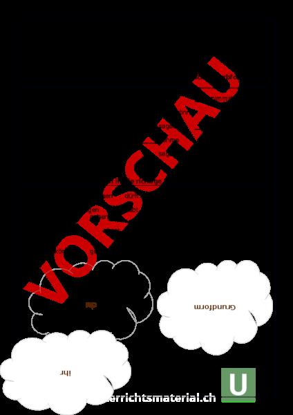Arbeitsblatt: Verben Training - Deutsch - Grammatik