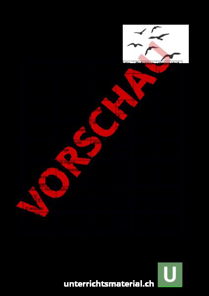 www.unterrichtsmaterial.ch - Biologie - Tiere - Vogel-Werkstatt ...