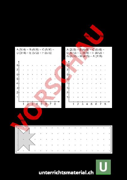 arbeitsblatt mathepr fung 5 klasse zu koordinatensystem stellenwert dezimalzahlen br che. Black Bedroom Furniture Sets. Home Design Ideas