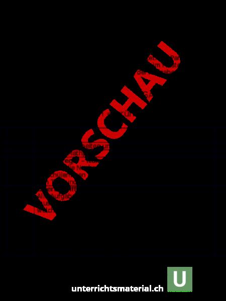 Arbeitsblatt: Wochenplan - Administration / Methodik - Anlässe ...
