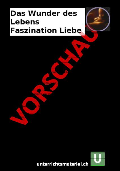 Ungewöhnlich Das Wunder Des Lebens Arbeitsblatt Ideen ...