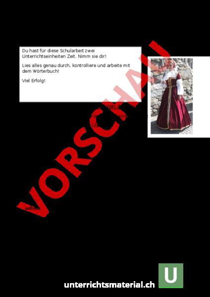 Wwwunterrichtsmaterialch Deutsch Texte Schreiben
