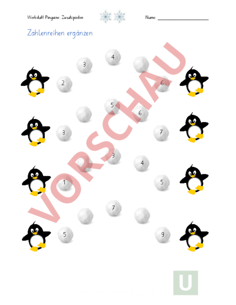 www.unterrichtsmaterial.ch - Mathematik - Anderes Thema - Pinguine ...